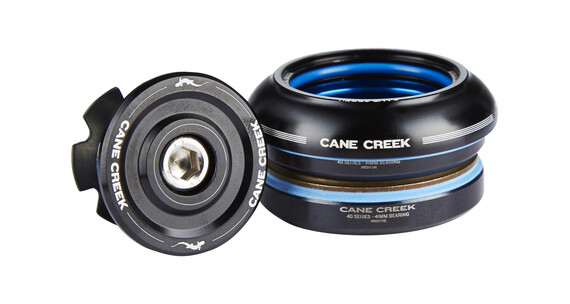 Cane Creek 40 balhoofd short, IS41/28.6 I IS41/30 zwart
